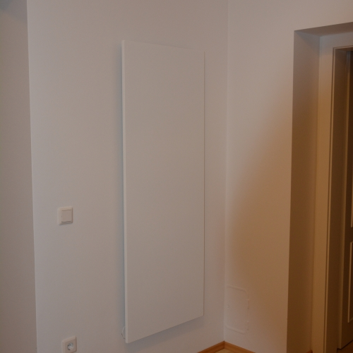 WE-Line im Eingangsbereich eines Hausstauballergiker Wohnraums.