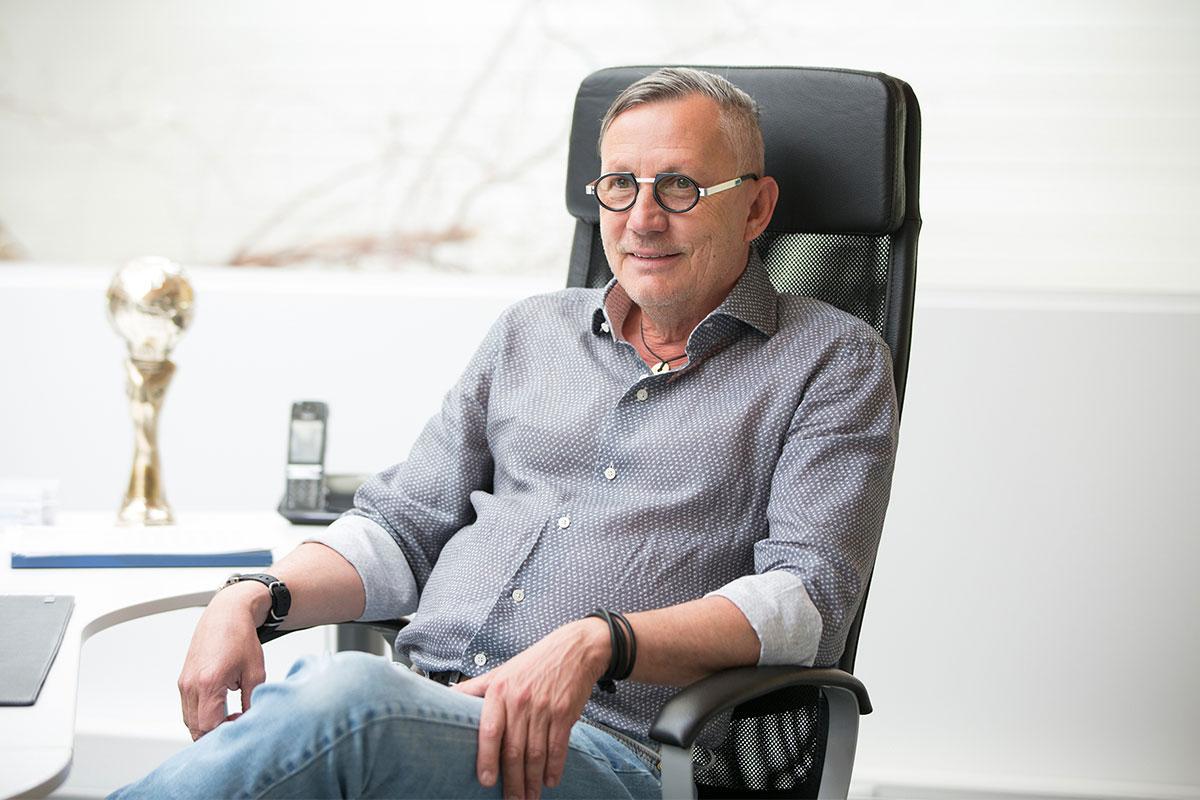 Mike Buschhoff, Inhaber der Redwell Manufaktur.
