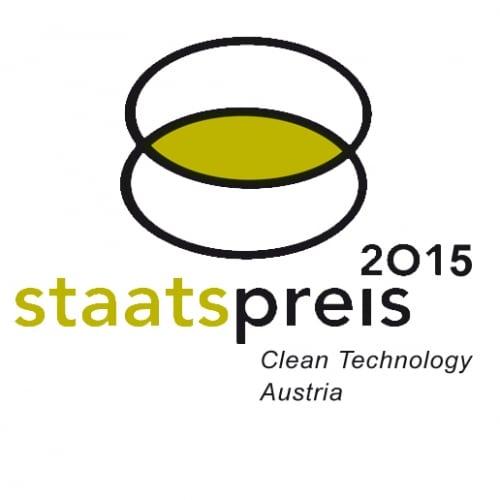 Logo des Staatspreises Österreich 2015