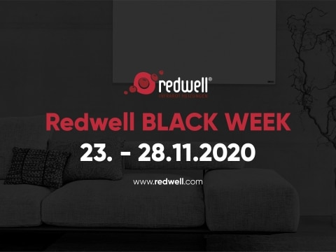 Facebook-Titelbild zur Redwell BLACK WEEK 2020