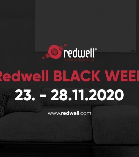 Facebook-Titelbild zur Redwell BLACK WEEK 2020